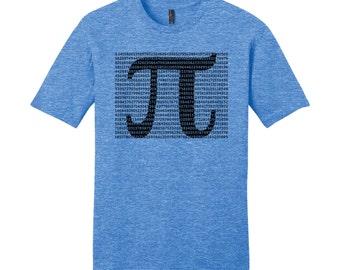 Pi Day Pi Shirt Math Shirt Digits Pi TShirt Math Teacher Gifts for Teacher Shirt Physics Science Geekery Geeky Nerdy Shirt Typography Tshirt
