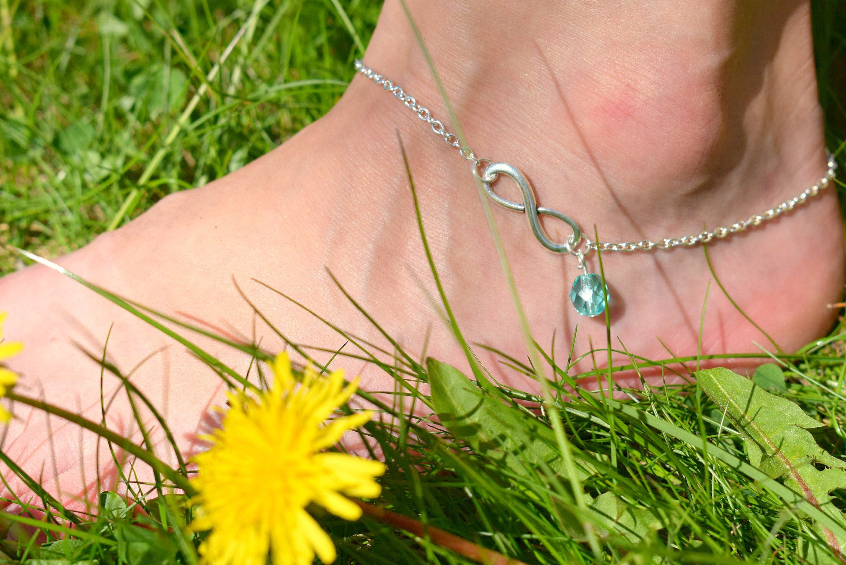 teen jerezwine anklets jewelry anklet beach wedding gift silver