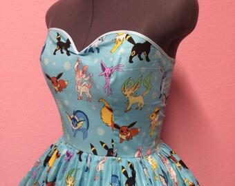 Eeveelution Pokemon Dress
