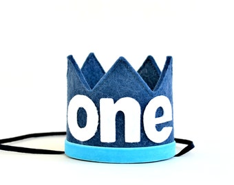 Boy Birthday Crown || Boy Photo Prop || Cake Smash Outfit Boy || 1st Birthday Boy Outfit || Birthday Crown Boy || Boy Birthday Outfit