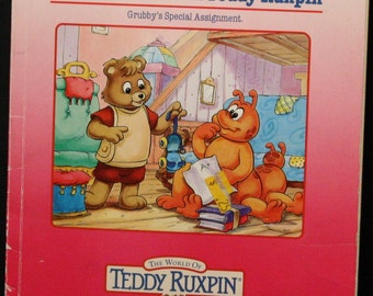 Safe at Home with Teddy Ruxpin Book Only