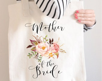 Mother Of The Bride Tote Bag,  Mother Of the bride bag, Mother Of the Bride gift,  Blush Mother Of The Bride Bag, Wedding Parents Gift