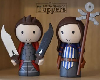Custom Wedding Cake Toppers - Dragon Age & Fate/Stay Night