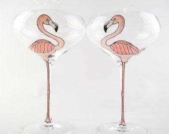 Flamingo Champagne Coupe
