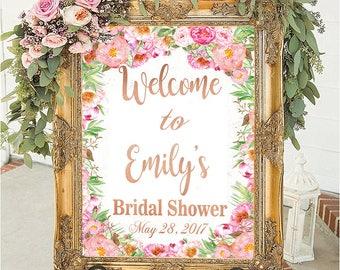 Bridal shower sign bridal shower decorations wedding sign wedding decorations bridal shower welcome sign welcome sign bridal shower decor