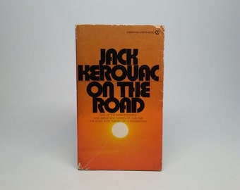 First Paperback Edition On The Road by Jack Kerouac - Signet, 1957 Paperback Book