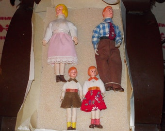 vintage caco doll family