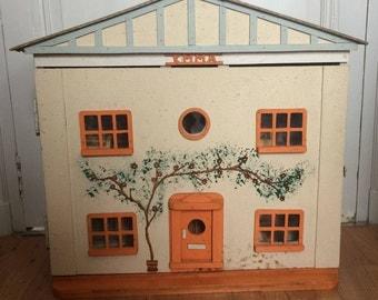 Vintage Hand Made Dolls House