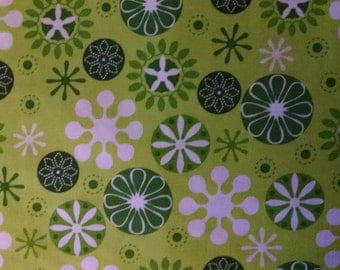 Christmas Green Quilting Fabric Ann Kelle for Robert Kaufman