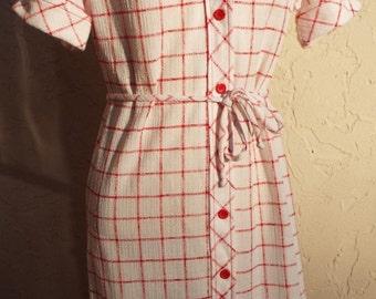 Amazing Vintage Short Sleeve Dress by Kenny Classics