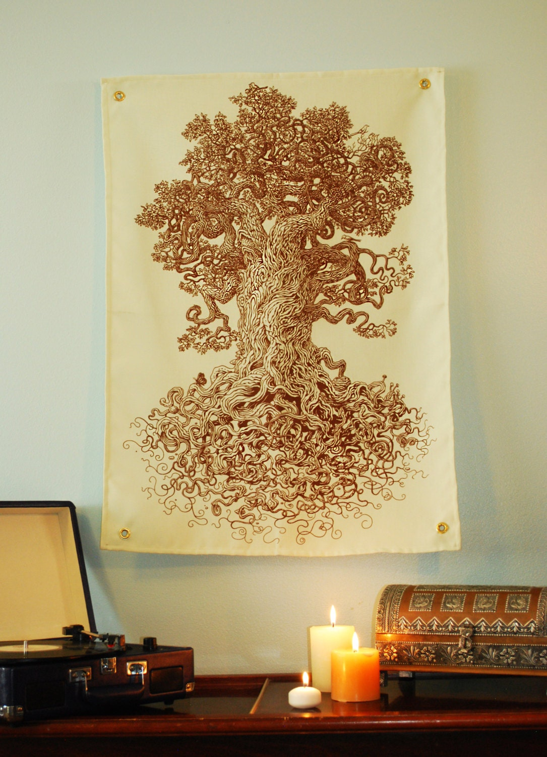 Tree Tapestry - Tree Art Wall Decor - Tree of Life - Science Teacher ...