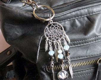 Badger Dreamcatcher handbag charm