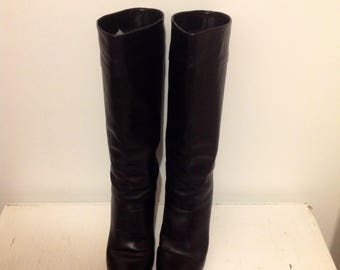 Etienne Aigner Boots  Black