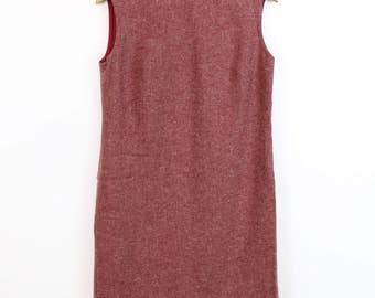 1960s Dress PENDLETON Wool Shift Dress Small MINI Dress 1960s Vintage Dress