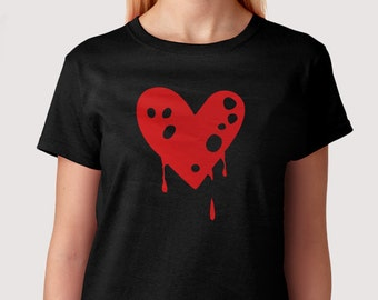 Dipping Heart - T-Shirt