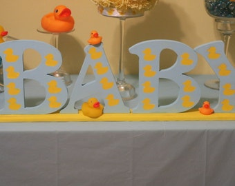 Wood baby sign