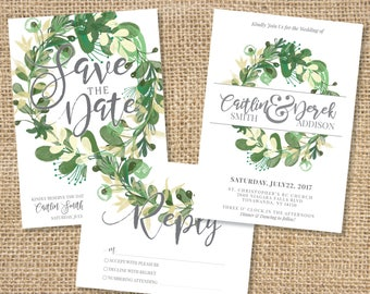 Greenery Wedding Package