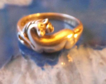 Sterling Silver Unicorn Ring.... size 7 only