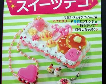 Miniature Sweets & Food Clay Kawaii Deco Japanese Craft Book