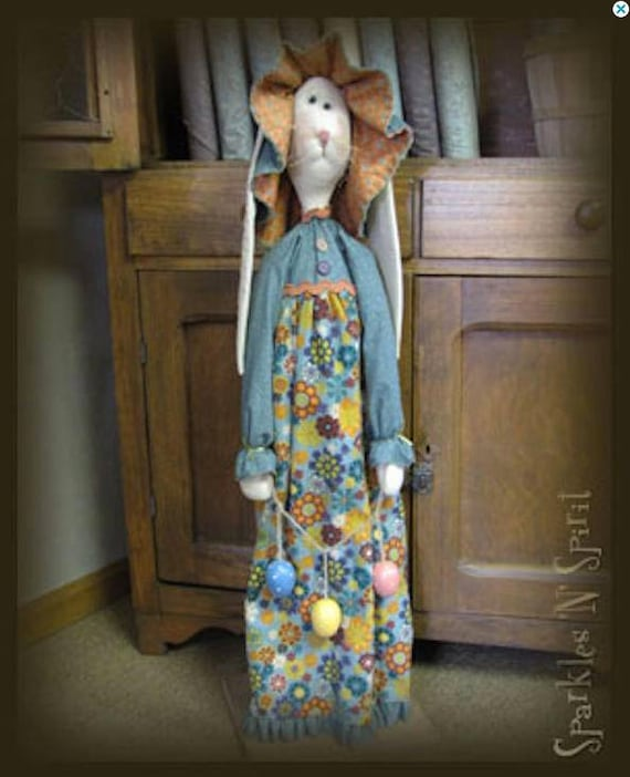 "Doll KIT: Millie - 36"" Prairie Bunny - Kit of supplies."