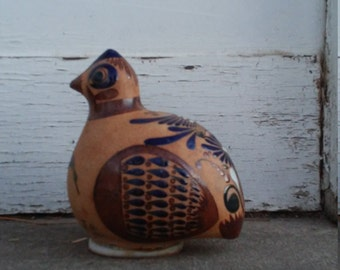 Large Mexican Stoneware Bird