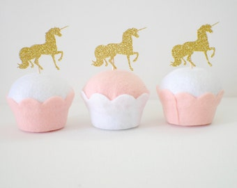 Unicorn cupcake toppers, cupcake toppers, unicorns, unicorn party, unicorn decoration (set of 12 toppers)