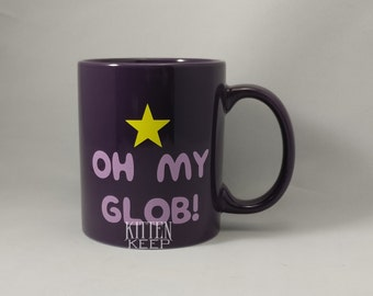 Oh My Glob! Coffee Mug | Adventure Time Fan | Lumpy Space Princess [LSP]