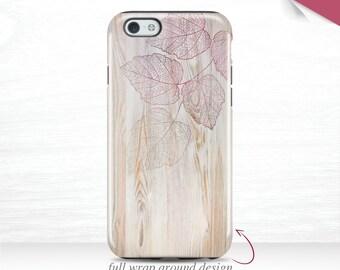 Leaf Print iPhone 7 Case iPhone 6s Cover, iPhone 6 Plus Case iPhone 5s Case 3D iPhone 6 Case Galaxy S7 Case iPhone 6S Case  17m