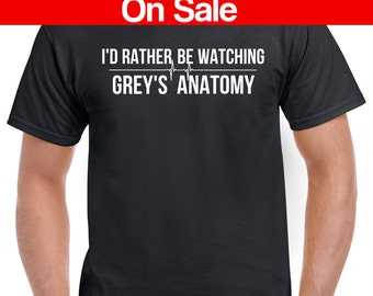Greys Anatomy T-Shirt - Greys Anatomy Fan - TV Show Greys Anatomy Hoodie - Greys Anatomy Sweatshirt
