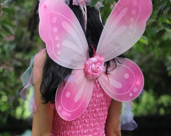 Whimsical  Adult Halloween  Fairy Wings ~ Costume ~  Butterfly ~ Cosplay ~ Ren-Fairie  Accessories ~ Theatre