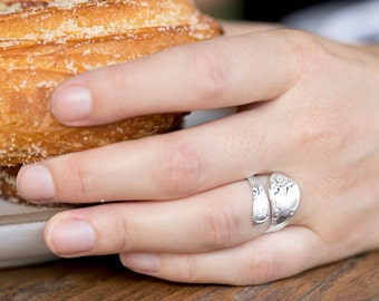 Best Seller!! Polished Sterling Silver Spoon Ring