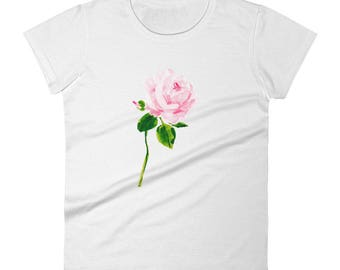 Tee: A Single Rose