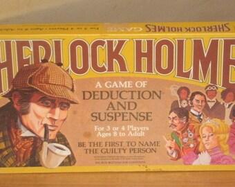 Whitman Sherlock Holmes Board Game