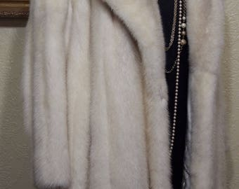 almost new condition...GORGEOUS AZURENE  MINK Coat sz 12-14 Mink coat Stroller Mink Coat
