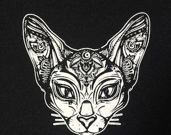 Mandala Cat  Patch | Patches | Punk Patches