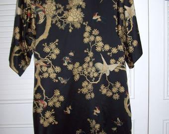 Natori Muu Muu, Gown Medium, Natori Caftan,  Shift, Sheath, Robe, Natori Maxi Straight Dress Size Medium 12 - 14
