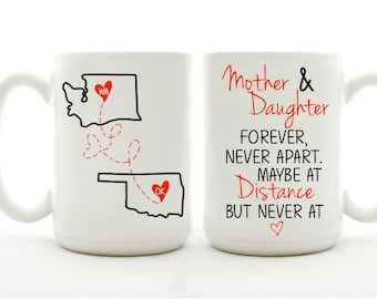 Mother And Daughter Forever Mug