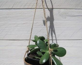 Small Hanging Planter, Mini Succulent Planter