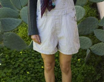 Khaki Multi Pocket One Size Fits Most Adjustable Overalls