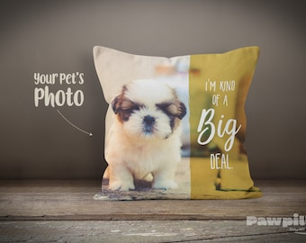 Custom Pet Pillow - Personalized Dog Pillow - Custom Dog Pillow - Custom Pet Pillow - Funny Pet Pillow - Custom Gift - Personalized Gift