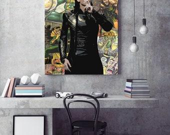 Marvel Avengers Loki Canvas Print