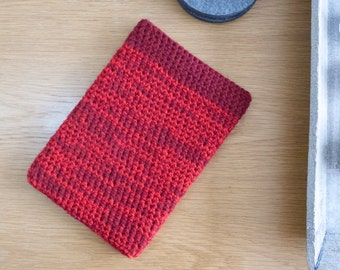 "10"" tablet cover, red Samsung tablet sleeve, iPad Air 2 tablet cover"
