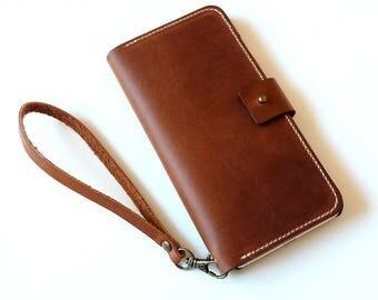 Wristlet iphone 6s plus wallet case , iphone 6s plus case , iphone 6s plus case leather , iphone 6s plus leather case, iphone 6s plus cases