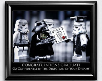 High School Graduation Gift for Class of 2017, College Graduation Gift for Him or Her, Best Graduation Gift for the Graduate: Wall Art Print