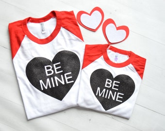 Valentine's shirt - mommy and me valentine shirt - Girls Valentines shirt