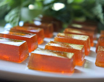 Mint Hard Candy, Honey Mint Candy, Handmade Mint Candy, Handmade gift, Hard Candy, Honey Sweets, Wrapped Candy, CPsweets, Artisan Candy