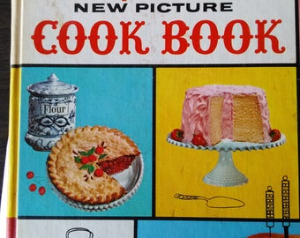 Betty Crocker's New Picture Cook Book 1st Ed. 5th Printing