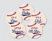 Baseball Baby Shower Cupc...