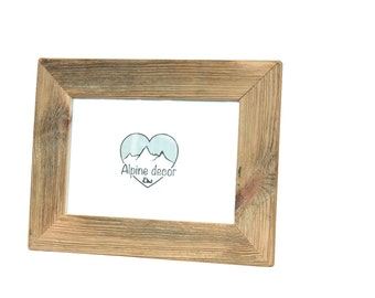 picture photo frame 82 x 118 inches rustic spruce