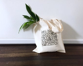 TOTE Bag - Cotton Tote Bag - Shopping bag - Graphic01